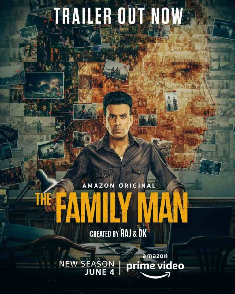 The Family Man Season 2 Download 480p & 720p Leaked by Filmywap